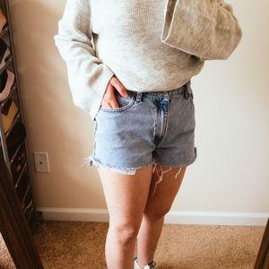 Vintage Levi's 550 Cut Off JEAN Shorts